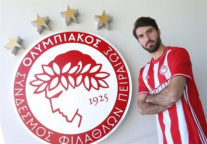 قدردانی باشگاه پانیونیوس از کریم انصاریفرد