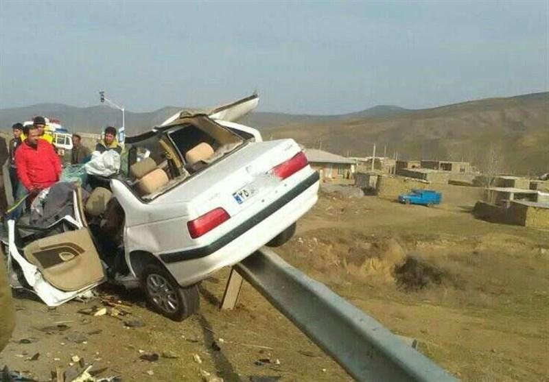 3 کشته در تصادف جاده بیلهسوار-گرمی