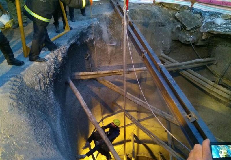 جسد هر 3 کارگر مدفون در تونل انرژی تبریز از زیر آوار خارج شدند+تصاویر