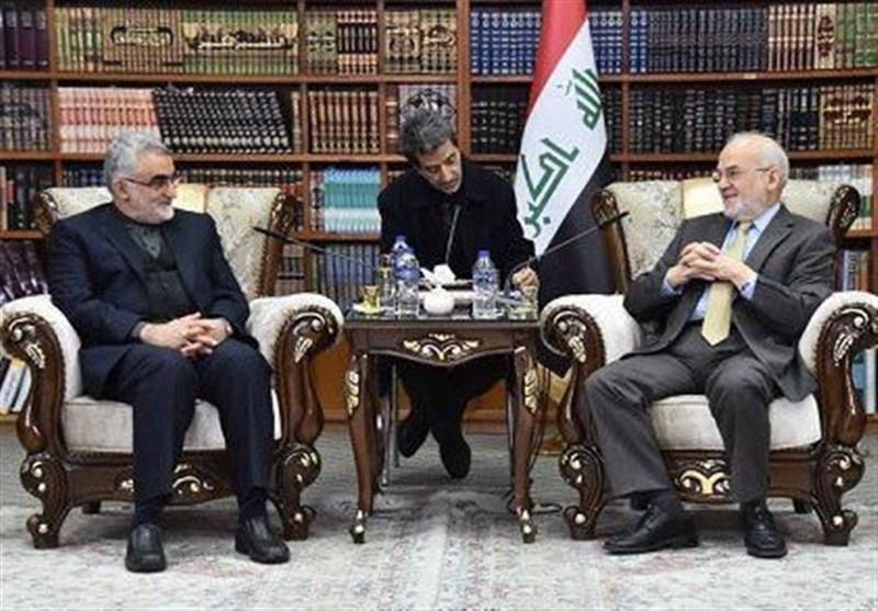 بغداد میں بروجردی اور الجعفری کی ملاقات