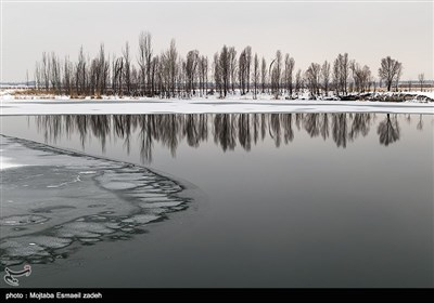 ایران کے شہر ارومیہ میں برفباری