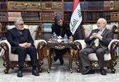 الجعفری یبحث مع بروجردی تکثیف الجهود والتعاون للقضاء على الإرهاب