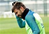 پیکه از فهرست 18 نفره بارسلونا کنار گذاشته شد