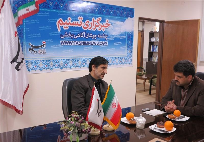 فرهاد فلاحتی در بازدید از تسنیم