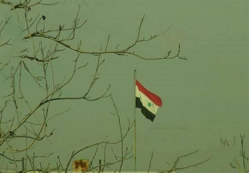 دمشق پرچم سوریه