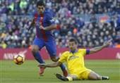 بارسلونا با پیروزی پر گل مقابل لاسپالماس به رده دوم صعود کرد