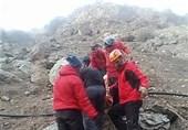سقوط کوهنورد در توچال