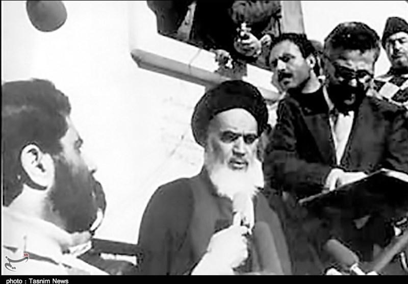 امام خمینی کی شاہ کے فرار کے بعد پریس کانفرنس کی یادگار تصاویر