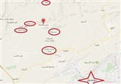 """الجیش السوری یحرر أجزاء واسعة من بلدتی """"عین الفیجة"""" و""""الحسینیة"""" بریف دمشق الغربی"""