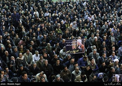 People in Tehran Pay Tribute to Late Ayatollah Rafsanjani