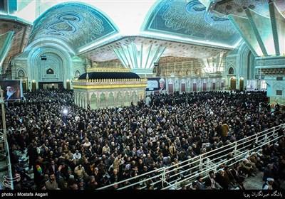 People in Tehran Pay Tribute to Late Ayatollah Rafsanjani