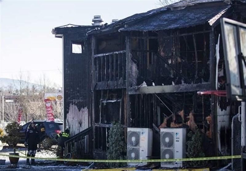 امریکی دارالحکومت واشنگٹن میں مسجد نذر آتش