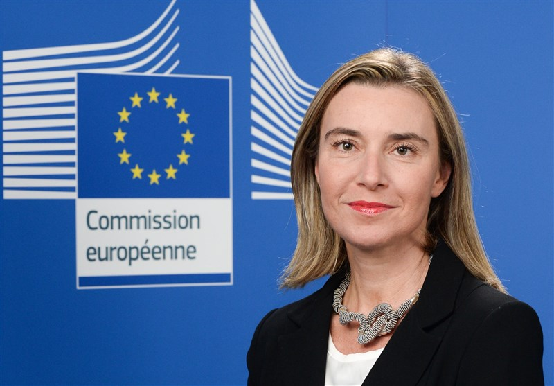 EU's Mogherini Congratulates President Rouhani on Re-Election