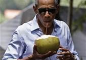 نخستین پیام توییتری اوباما به عنوان یک شهروند عادی آمریکا