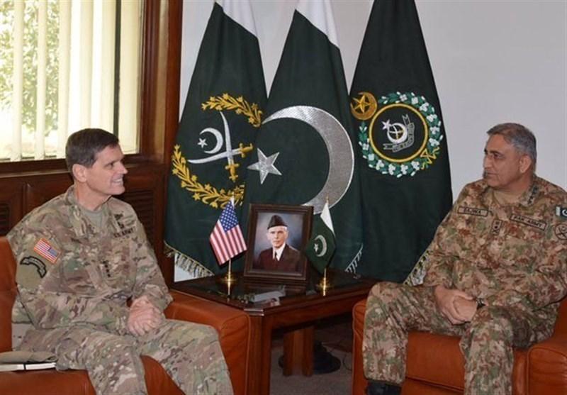 آرمی چیف سے امریکی سینٹ کام کے کمانڈر کی ملاقات، افغان امور پر تبادلہ خیال