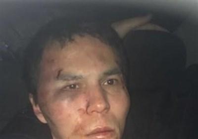 تصاویر لحظه دستگیری مهاجم باشگاه شبانه استانبول