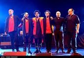 اجرای گروه موسیقی داماهی در برج آزادی
