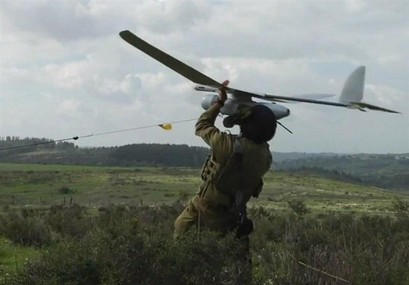 Siyonist İHA'ları Filistinlilere Saldırdı