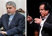علی رهبری و وزیر ارشاد