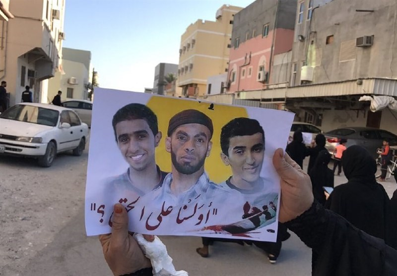 فراخوان مشارکت گسترده در راهپیمایی سومین روز شهادت 3 جوان بحرینی
