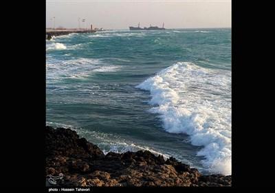 ساحل جزیره کیش - خلیج فارس
