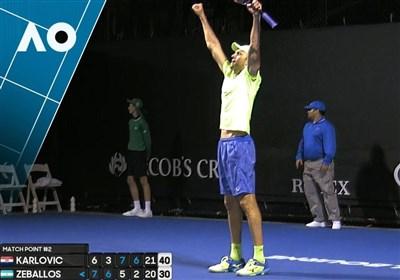 ثبت طولانیترین ست پنجم تاریخ در رقابتهای تنیس ملبورن
