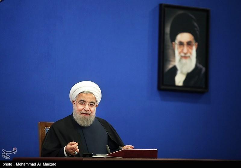 روحانی : الشعب الایرانی اختار مسار التعامل مع العالم