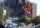 باکو/ آتش سوزی ساختمان