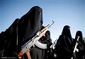 تصاویر/ رژه زنان مسلح انصارالله در یمن