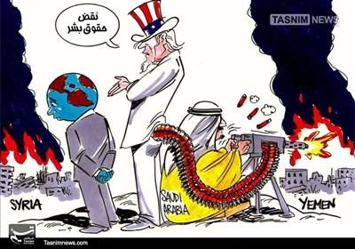 کاریکاتور/ بزرگترین دروغ و فریب دنیا!!!