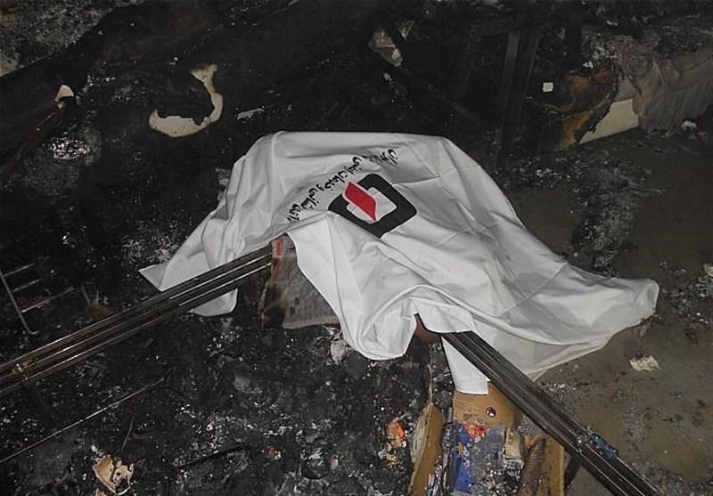 کشف جسد سوخته پیرمرد حین اطفای حریق در شرق تهران
