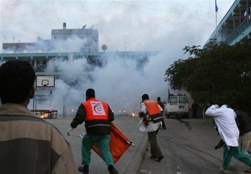 غزہ میں اسرائیلی فوج پر فائرنگ