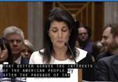 «نیکی هیلی» با تایید سنا نماینده آمریکا در سازمان ملل شد