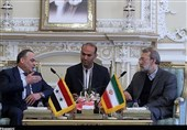 لاریجانی یؤکد دعم ایران الحاسم للشعب والحکومة السوریة