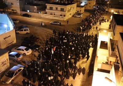 تظاهرات هزاران بحرینی در منطقه السنابس علیه رژیم آل خلیفه+ تصاویر