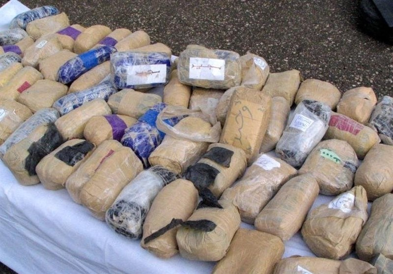 16 Tons of Illicit Drugs Seized in Southern Iran in 3 Months
