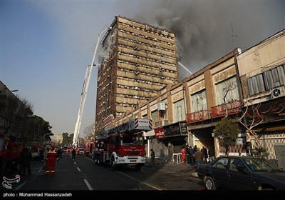 تہران؛ شاپنگ مال میں خوفناک آتشزدگی، 30 سے زائد افراد جاں بحق
