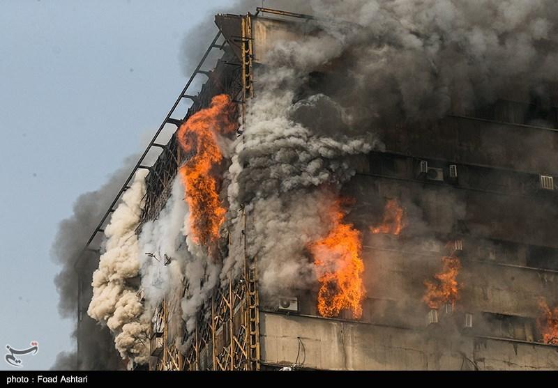 علت اصلی آتشسوزی در ساختمان پلاسکو اعلام شد + جزئیات