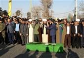 تشیع شهید مدافع حرم در ورامین