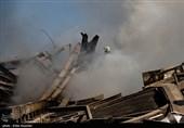 خسارات ناشی از فروریختن ساختمان پلاسکو