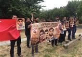 تظاهرات بحرینیها در کانبرا
