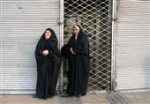 عکس/انتظار تلخ خانواده شهدای آتش نشان مقابل پلاسکو