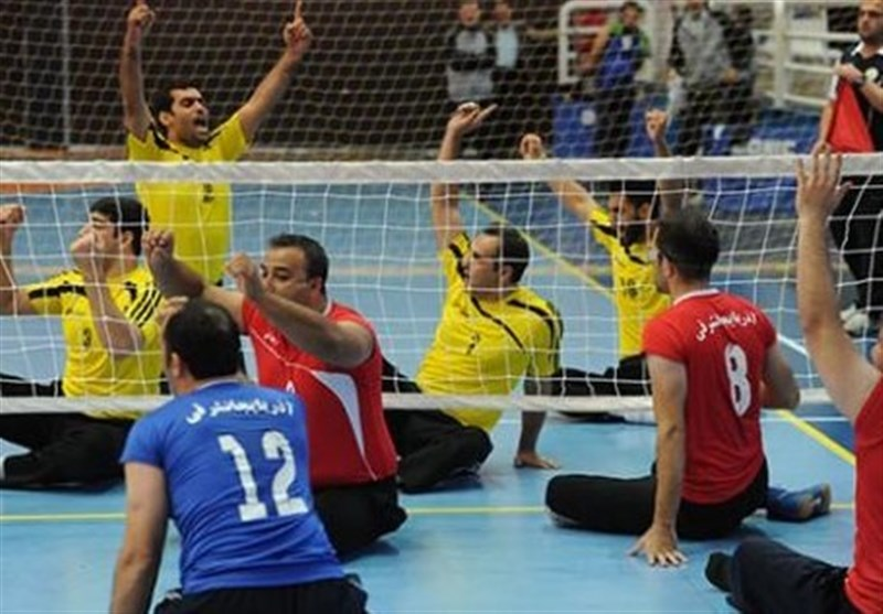 قهرمانی زود هنگام بهزیستی مازندران در لیگ برتر والیبال نشسته