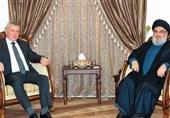 دیدار سلیمان فرنجیه با دبیرکل حزب الله لبنان