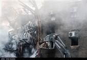 ساختمان مجاور پلاسکو تخریب شد + فیلم و اخبار تکمیلی