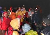 21 کوهنورد گم شده در ارتفاعات دیلمان گیلان پیدا شدند