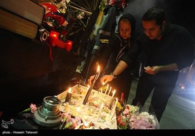 همدردی مردم کیش با آتش نشانان حادثه پلاسکو