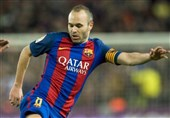 اینیستا بازی بارسلونا - ایبار را از دست داد