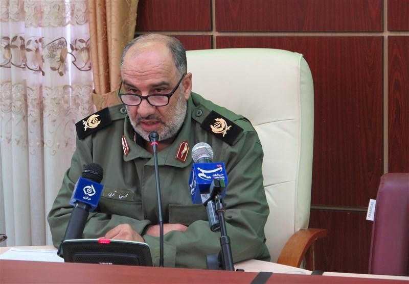 سردار کریمی نشست مطبوعاتی فرمانده سپاه روح الله استان مرکزی