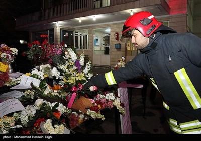 پلاسکو حادثہ؛ ایران کے مختلف شہروں میں شمعیں رون کرنے کی تقاریب